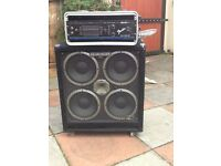 Bass Amp and speaker