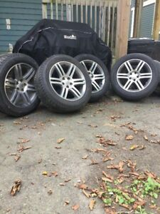 Winter Tires on OEM Dodge Charger 235 55 18