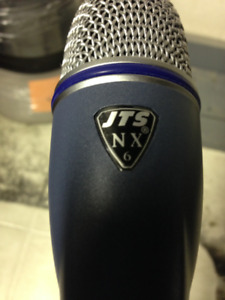 As *NEW* JTS NX 6 Drum Mic. and Stand!