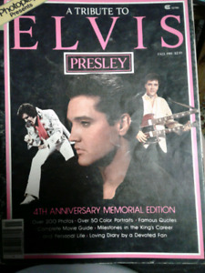 Tribute to Elvis Presley-photoplay 4th anniversary