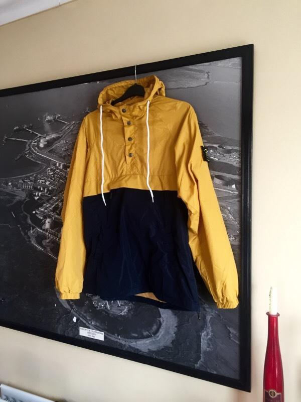 Stone island yellow festival jacket anorak size L - in Walmer, Kent ...