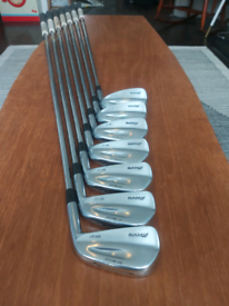 (1) ONE INCH LONGER SHAFTS FOR TALLER GOLFERS Mizuno Mp67 Irons 4-PW.