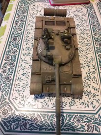 T62 tank with soldiers and masking