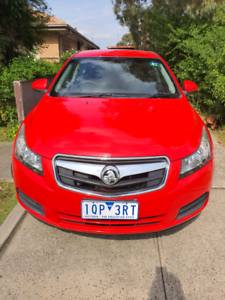 Holden Cruze 2010 manual in excellent condition