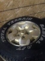 P235/75R15 Wheels and Tires