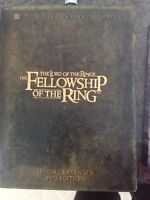 The Lord of the Rings- The Fellowship of the Rings dvd