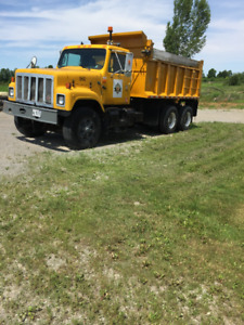 1994 international dump truck 350 cummings