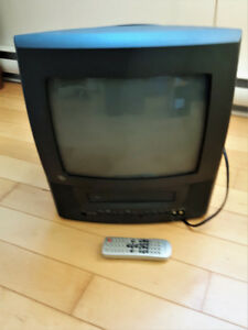 Small TV VCR Combo - How else to watch those old video tapes?