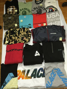 BAPE, SUPREME, PALACE AND MORE FOR SALE AT KENSHI.CA London Ontario image 1