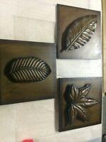 Metal art - 3 pieces