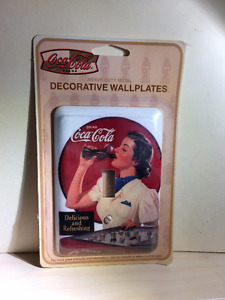 Coca-Cola wall switch plate cover