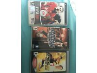 Psp games FIFA football manager PES
