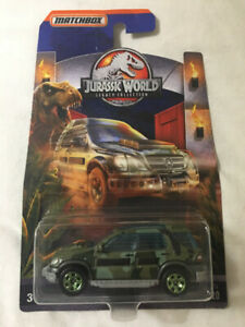 Matchbox Jurassic World 97 Mercedes Benz ML320 (rare)