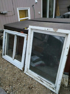 Used Windows for Cabin or Shed
