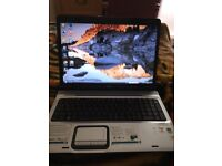 HP widescreen Laptop - fully working with charger