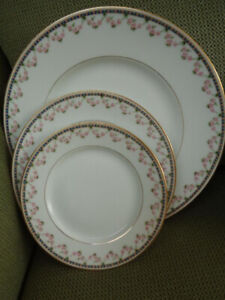 LIMOGES FINE CHINA ANTIQUE DISHES