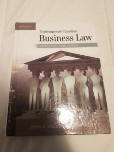 Contemporary Canadian Business Law 10th Edition