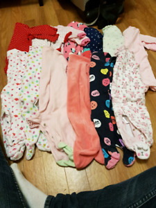 New born girl cloths and 0-3 months