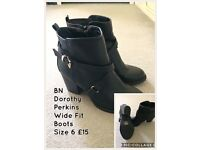 BN Dorothy Perkins Boots Size 6
