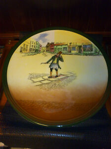 1936 ROYAL DOULTON TROTTY VECK LARGE PLATE