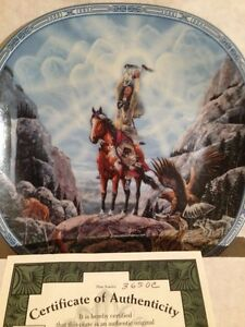 Vision of the Sacred Plate Collection-Bradford Exchange Strathcona County Edmonton Area image 2