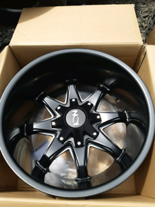 "NEW 20"" 20X12 -44 5BOLT UNIVERSAL RIMS"