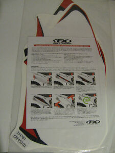 2002 CRF 450R Factory Effex Number Plate Backgrounds
