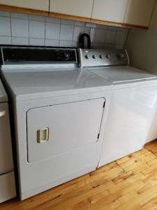 Washer & Dryer in excellent condition / also fridge and stove