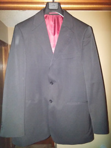 Black Suit size 42 with pants, Bellissimo