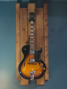 CUSTOM GUITAR WALL MOUNT ( guitars not included ) 8 left