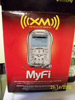 xm portable receiver for car,boat,home use