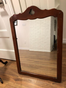 Colonial Style wall mirror