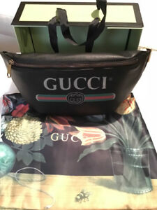 !!!!!NEW IN THE BOX !!!!!!!!GUCCI 90 Leather Belt Bag   750$$$