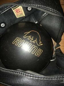 Bowling Ball, Bag, & Wrist gaurd