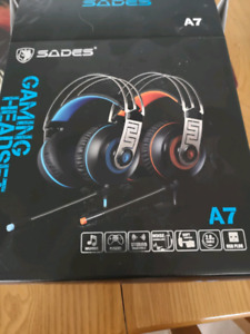 Casque d'écoute micro gaming headset port USB