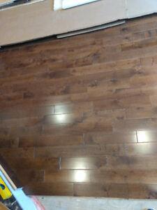 Plancher de bois franc neuf meurisier cappucino 140pc