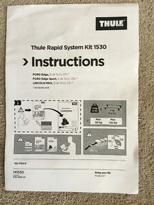 Thule Rapid System Fit Kit 1530