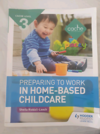 Preparing to work in home based childcare