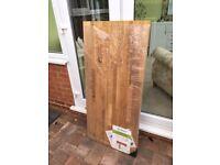 Solid oak worktop off-cuts