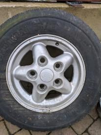 "Discover 2 16"" alloy wheel rim"