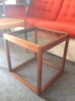 Retro Danish Teak Mid Century Furniture Chair, table, etc