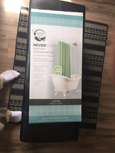 Hoop Shower Curtain Rod