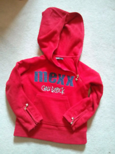 @ like new Mexx girls rock hoody size 2