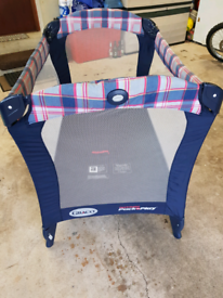 Graco mobile Cot bed