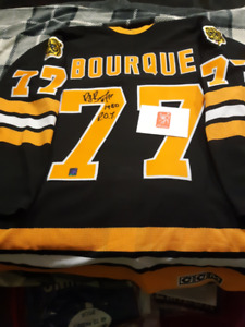 RAY BOURQUE Boston Bruins HAND SIGNED Pro Size 52 Jersey WGA 199649c1d