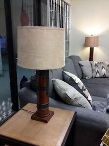 *** USED *** ASHLEY ORIEL LAMP (2/CN)   S/N:51191957   #STORE523