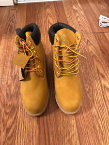 TIMBERLAND 6 INCH BOOT WHEAT NUBUCK NEW STYLE