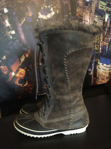 Sorel Cate The Great Women's Winter Boots Size 12 Like New!