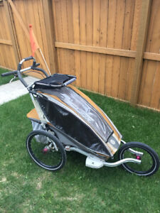 Chariot CX1 bike trailer / jogging stroller