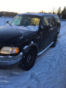 2000 Ford Expedition eddie bauer will trade for car ,quad etc!!!
